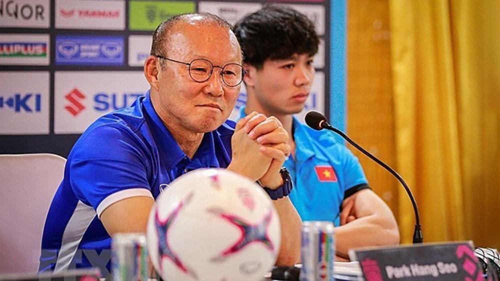HLV Park Hang-seo tuyên bố về mục tiêu của đội tuyển Việt Nam