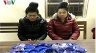 """Vận chuyển hơn 17.000 viên ma túy tổng hợp, 2 """"nữ quái"""" bị bắt"""
