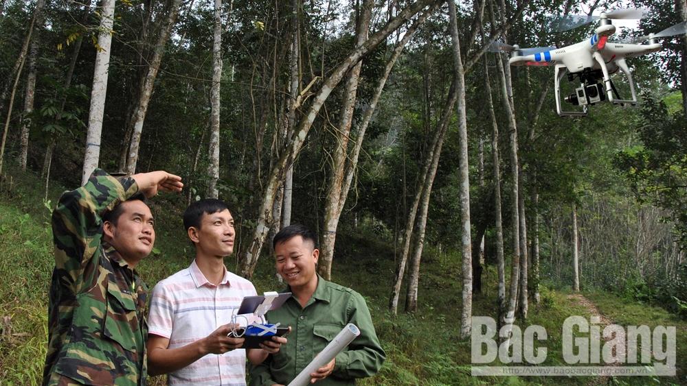 Ứng dụng công nghệ cao vào quản lý, bảo vệ rừng