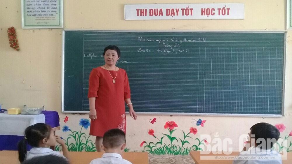 Cô Đào Thị Thu Lan, tấm gương, nhà giáo, tâm huyết , với nghề
