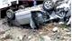 Ô tô Innova bị tàu hỏa tông văng 20m, 3 người bị thương nặng