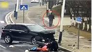 Tài xế đi ngược chiều gây tai nạn rồi xuống xe bỏ chạy