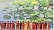Mural paintings on lotus ponds debut at Noi Bai International Airport