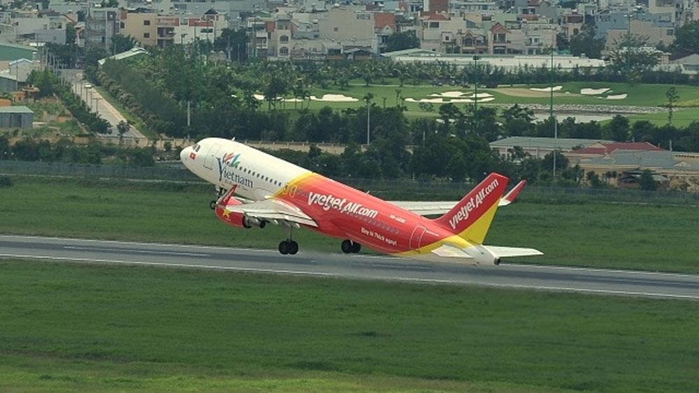 Vietjet, peach flower, ochna integerrima, Tet flights, upcoming Lunar New Year, high season, customer demand