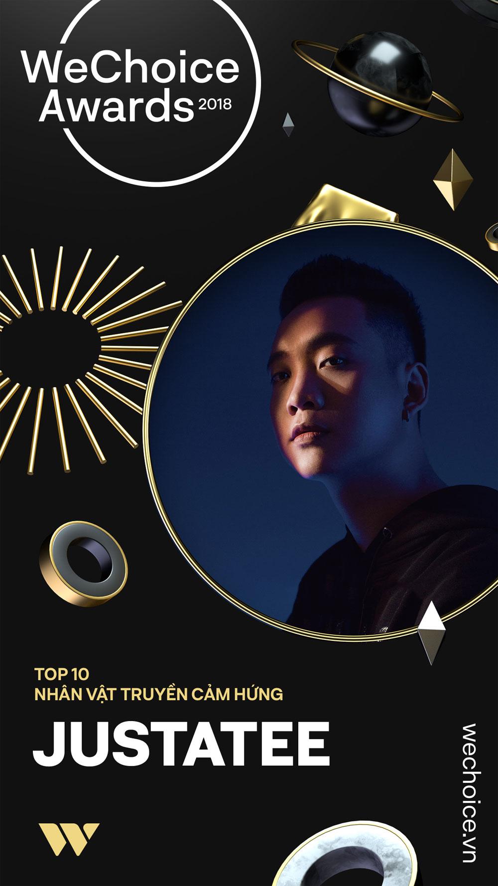 Công bố, top 10 nhân vật, truyền cảm hứng, WeChoice Awards 2018