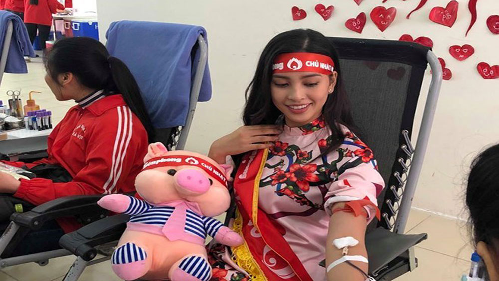 blood donation, 70 places, coming lunar New Year 2019, Chu Nhat Do, Red Sunday, blood supply shortage, hospitals, National Institute of Haematology and Blood Transfusions