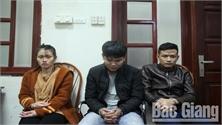 Công an tỉnh Bắc Giang bắt ba đối tượng vận chuyển gần 3.000 viên ma túy tổng hợp