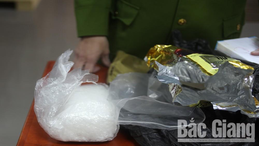 Công an tỉnh Bắc Giang, ma túy, thu giữ 1kg ma túy tổng hợp