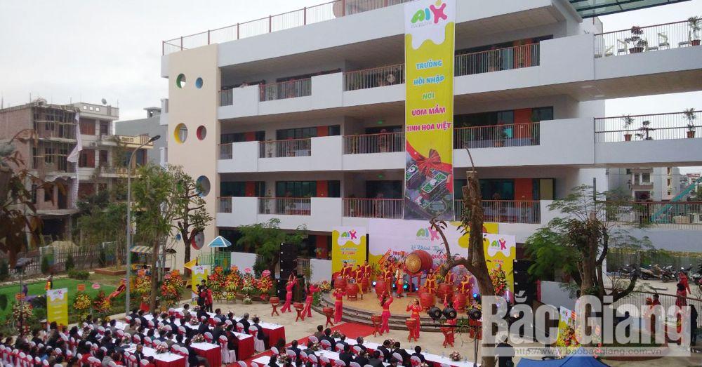 Trường mầm non Quốc tế ASEAN, Đào Xuân Cần, Phạm Vũ Luận, Thành phố Bắc Giang