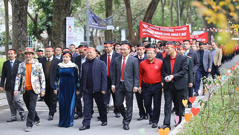 Hàng nghìn sinh viên, thanh niên, hiến máu, Hà Nội