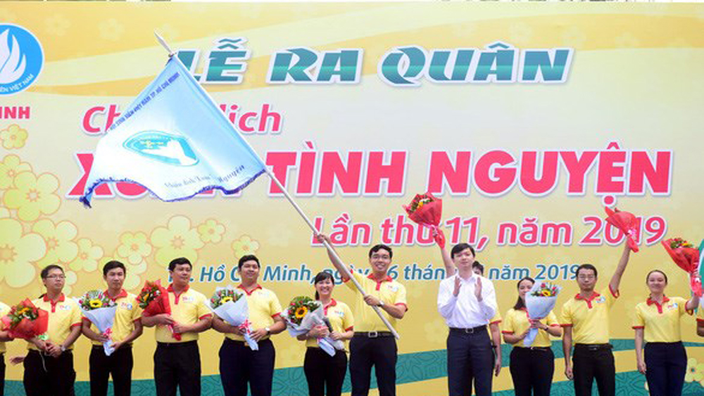 Over 30,000 youths join voluntary spring campaign in Ho Chi Minh City