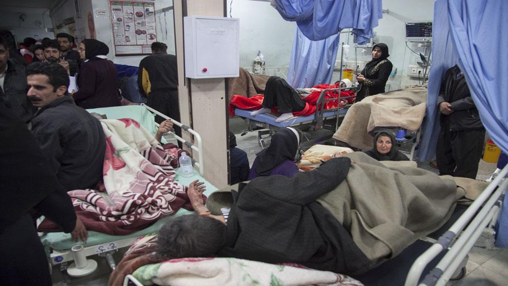 Hàng chục người bị thương, động đất tại Iran, TP Gilangharb, tỉnh Kermanshah