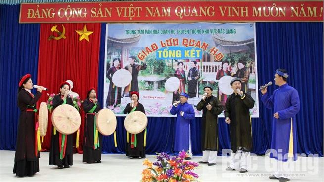 Kỷ niệm 5 năm thành lập Trung tâm Văn hóa quan họ truyền thống khu vực Bắc Giang