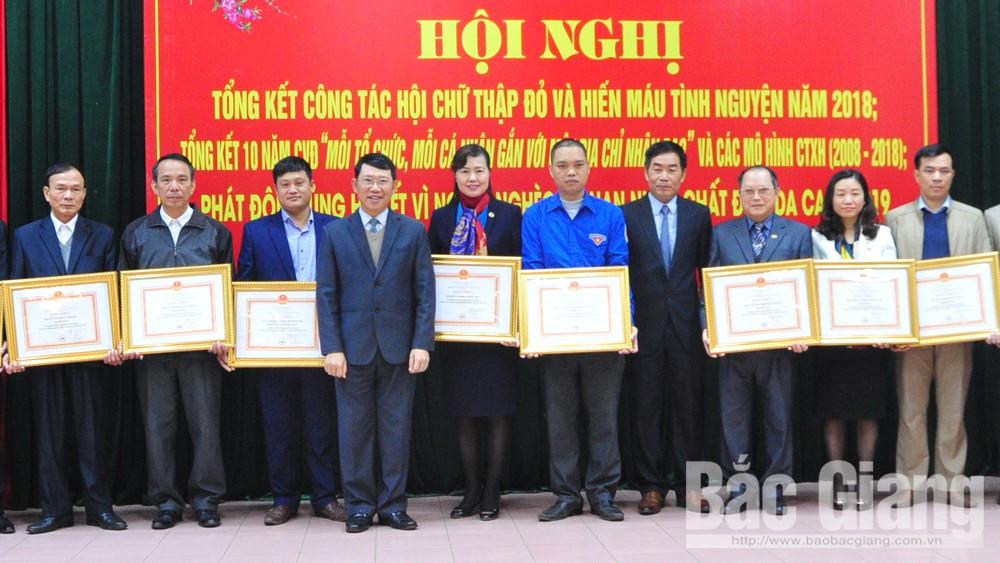 Hội chữ thập đỏ tỉnh Bắc Giang, Ông Lê Ánh Dương Phó Chủ tịch UBND tỉnh Bắc Giang, Tết vì người nghèo