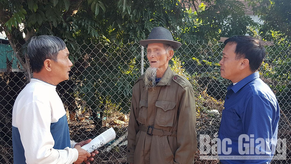 Lời hứa với Đảng, Nông Văn Chu, 70 năm tuổi Đảng, đảng viên uy tín