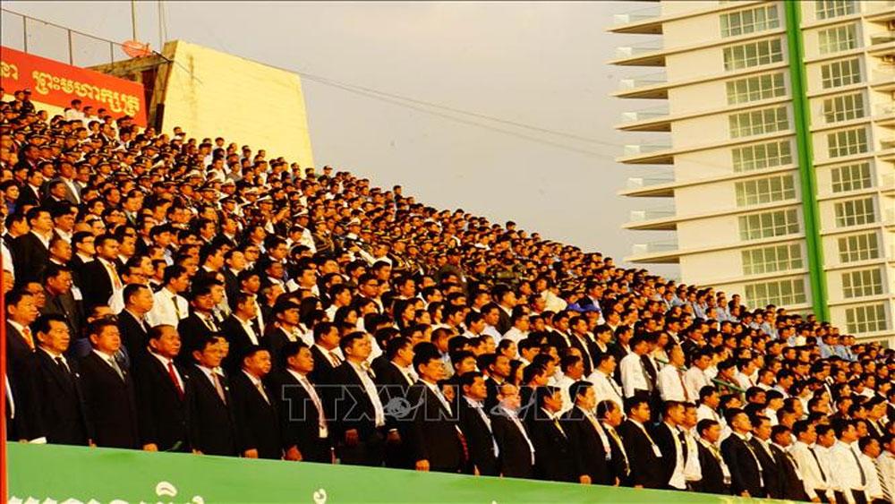 Campuchia, kỷ niệm, trọng thể, 40 năm, ngày lật đổ chế độ diệt chủng Khmer Đỏ