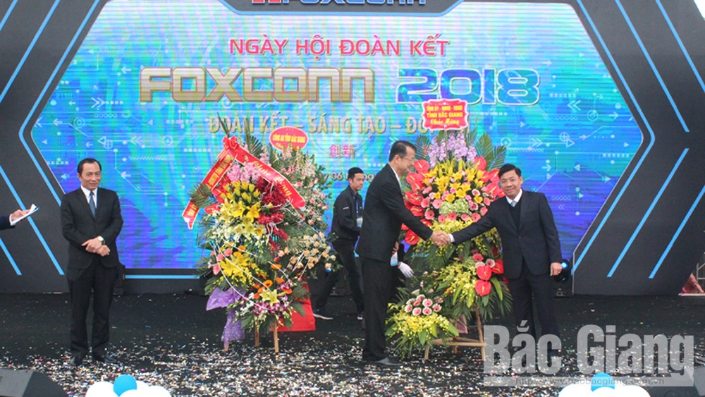 Foxconn's great unity festival 2018 held in Bac Giang