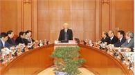 Tổng Bí thư, Chủ tịch nước Nguyễn Phú Trọng chủ trì phiên họp thứ nhất Tiểu ban văn kiện Đại hội XIII của Đảng