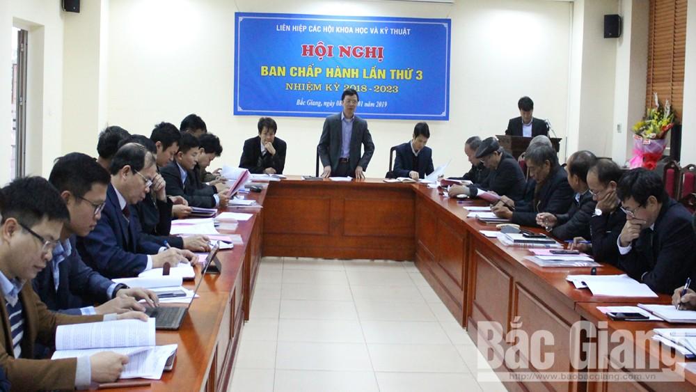 Liên hiệp Các hội Khoa học và Kỹ thuật tỉnh Bắc Giang, Phản biện đề án