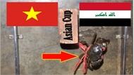 """""""Cua tiên tri"""" bị luộc vì chọn Iraq thắng Việt Nam"""