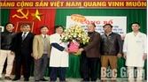 Ông Đặng Bá Nhiên giữ chức Giám đốc Trung tâm Y tế huyện Hiệp Hòa