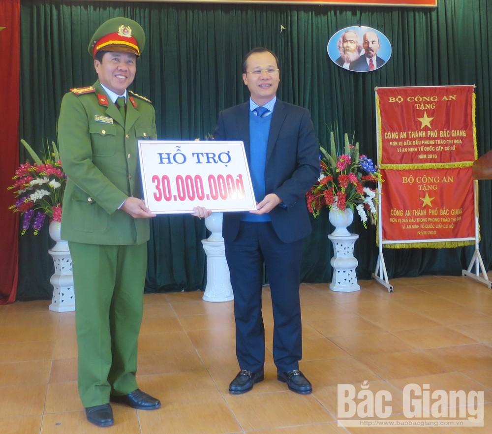 Phó Chủ tịch UBND tỉnh Lê Ánh Dương, Công an thành phố Bắc Giang, Ma túy, Mai dân