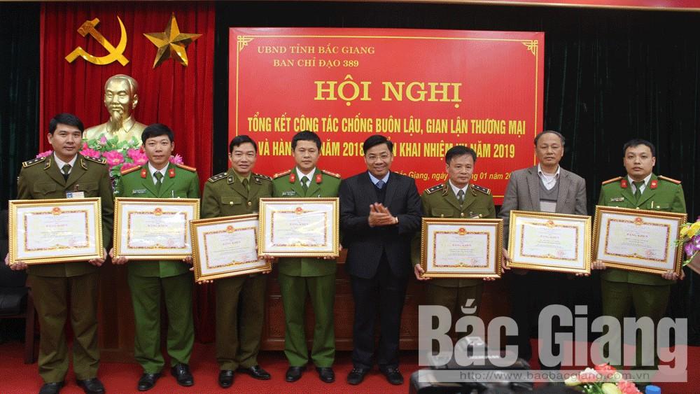 Bắc Giang, không để, xảy ra, điểm nóng, buôn lậu, sản xuất, hàng giả, Ban Chỉ đạo, 389