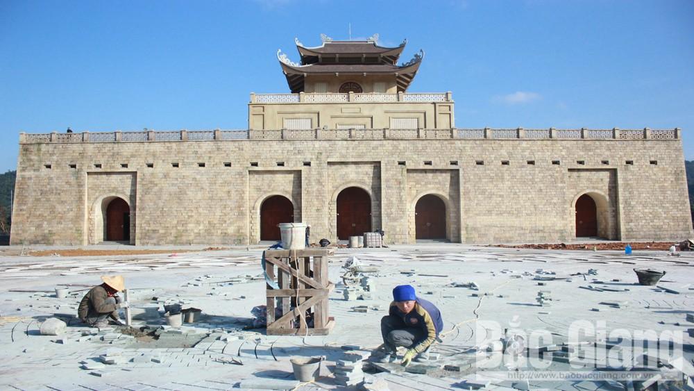 Khu tái hiện Hoàng Thành tại xã Tuấn Mậu (Sơn Động)                                       Ảnh Tuyết Mai