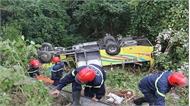 Vụ xe khách rơi xuống vực ở đèo Hải Vân: Công an tỉnh Thừa Thiên - Huế xác định nguyên nhân do xe bị mất phanh