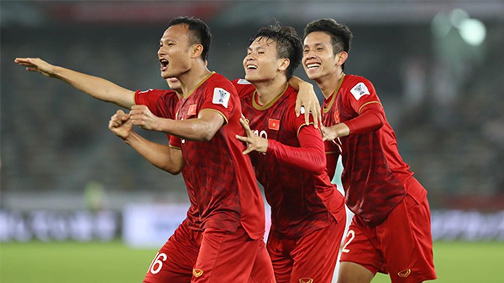 Asian Cup 2019 Việt Nam- Iraq (hiệp 1): Tỷ số 2-1 nghiêng về các cầu thủ Việt Nam