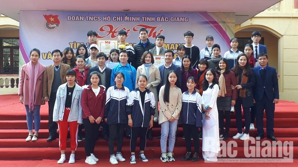 Trường THPT Phương Sơn tổ chức hội thi tìm hiểu Luật An ninh mạng
