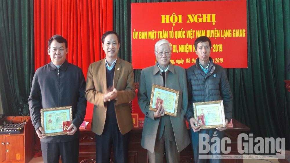 Lạng Giang; MTTQ; triển khai nhiệm vụ