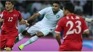 Ả-rập Xê-út thắng Triều Tiên 4-0