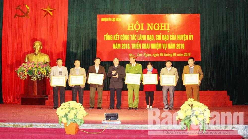 Bắc Giang, Lục Ngạn, sản xuất, sản phẩm, giá trị, Huyện ủy