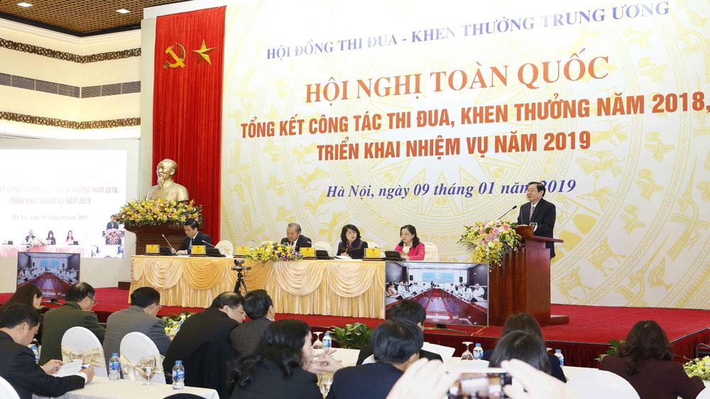 Phó Thủ tướng Trương Hòa Bình: Phòng chống tiêu cực trong công tác thi đua, khen thưởng