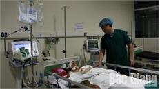 Bệnh viện Đa khoa tỉnh Bắc Giang cứu sống bệnh nhân nguy kịch do bị dao đâm