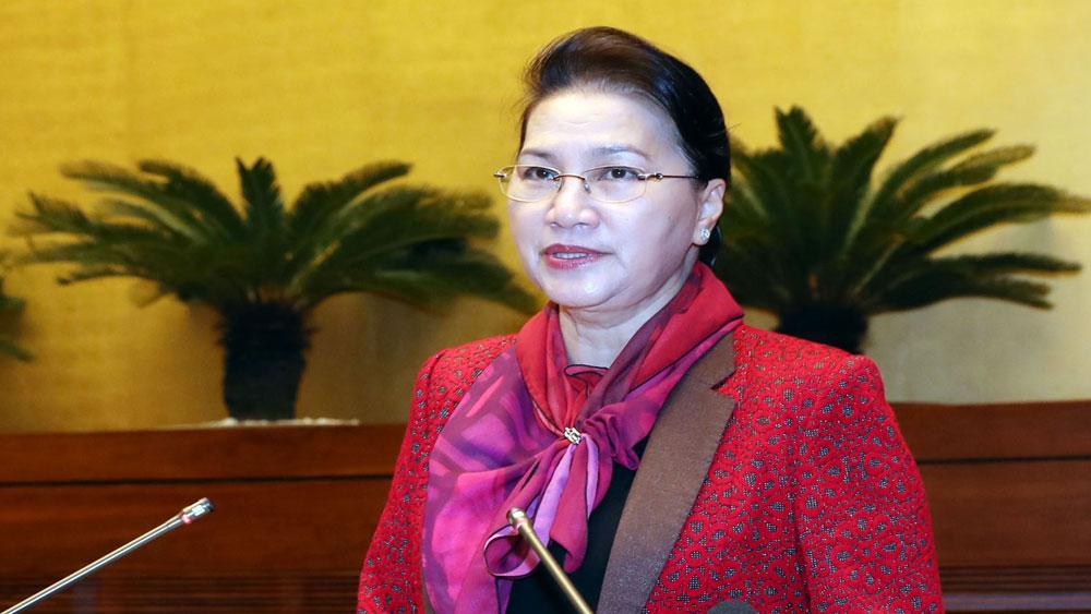 Chủ tịch Quốc hội Nguyễn Thị Kim Ngân, hội nghị, triển kha,i nhiệm vụ năm 2019, Văn phòng Quốc hội