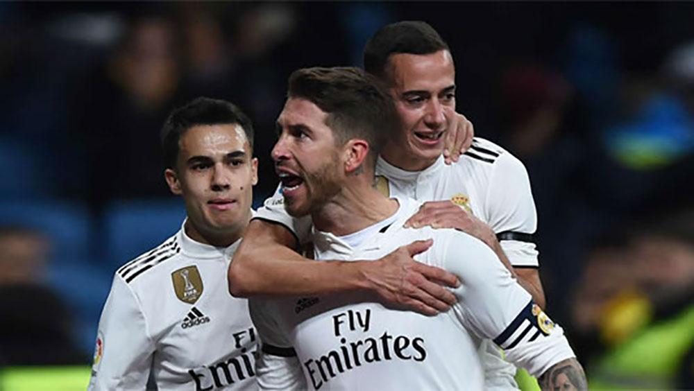 Real thắng trận đầu tiên trong năm 2019