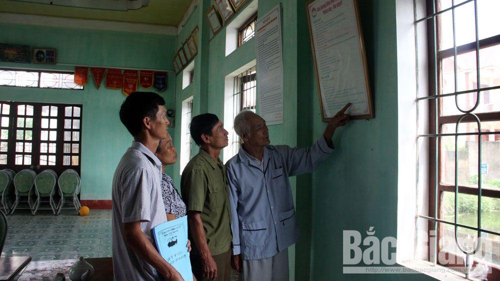 Việt yên, khen thưởng, cá nhân, dân số