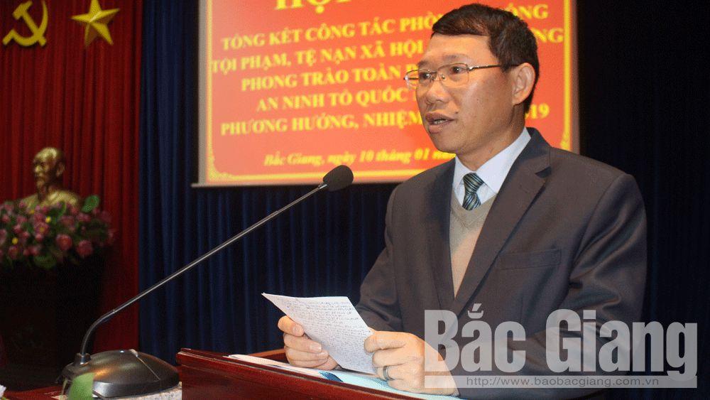 Phòng chống tội phạm; tệ nạn xã hội; an ninh Tổ quốc, Lê Ánh Dương Phó Chủ tịch UBND tỉnh
