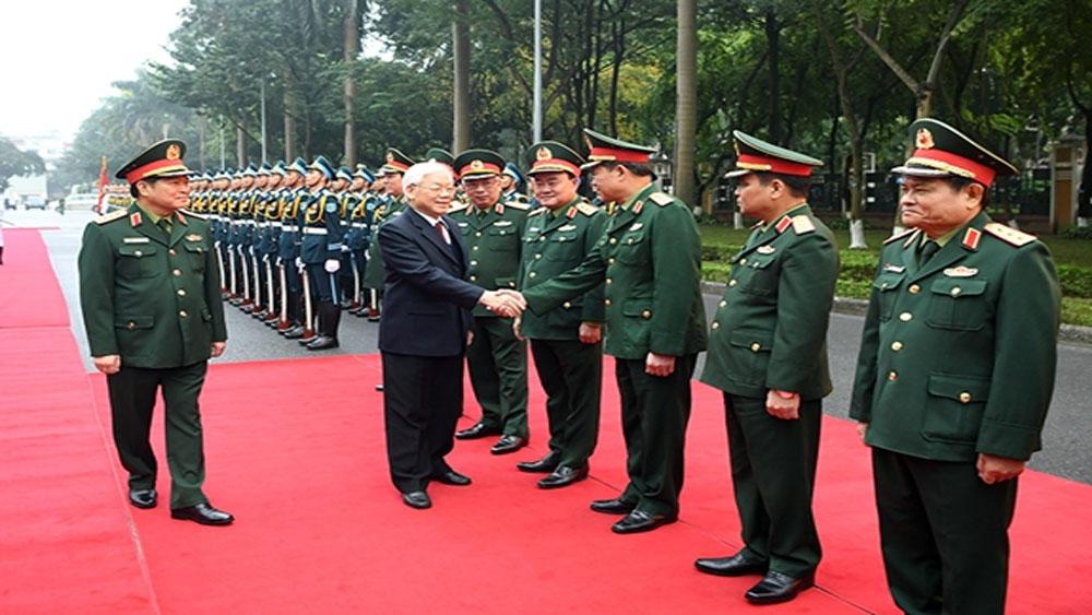 Tổng Bí thư, Chủ tịch nước Nguyễn Phú Trọng, Hội nghị Quân chính toàn quân năm 2018