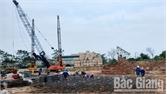Đẩy nhanh tiến độ thi công Dự án chung cư thương mại Green City (TP Bắc Giang)