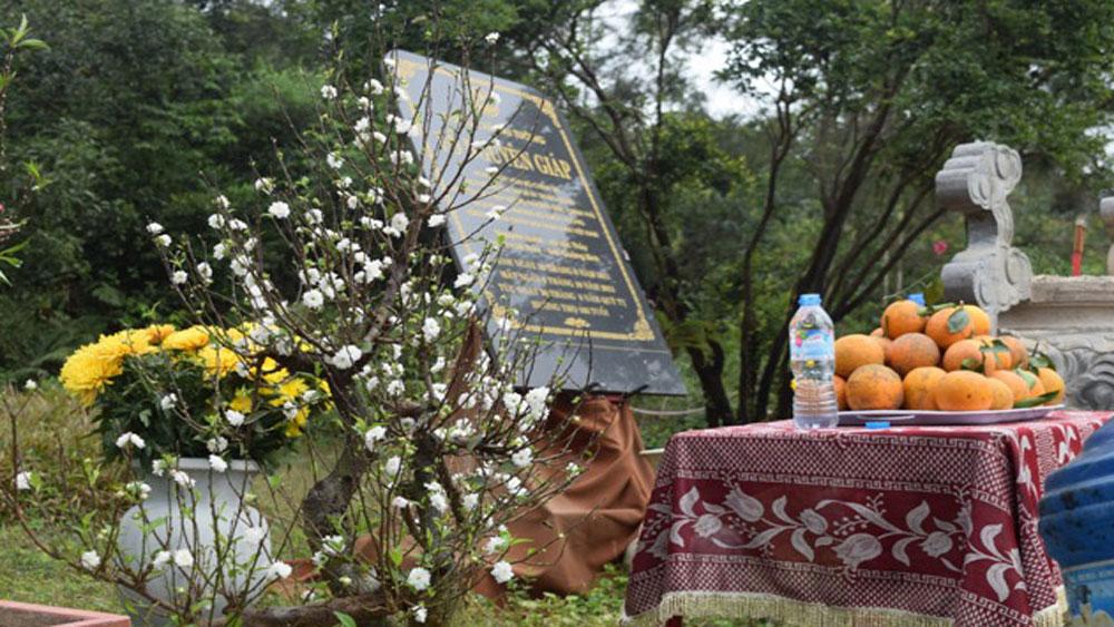 Khu mộ Đại tướng Võ Nguyên Giáp, bàn giao cho gia đình, Quảng Bình