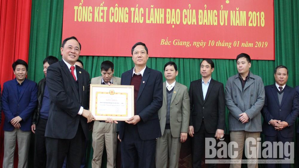 Đảng ủy Khối doanh nghiệp tỉnh khen thưởng 25 tập thể, cá nhân tiêu biểu