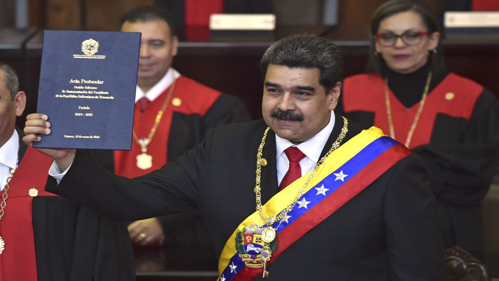 Tổng thống Venezuela Nicolas Maduro, nhậm chức, nhiệm kỳ 2