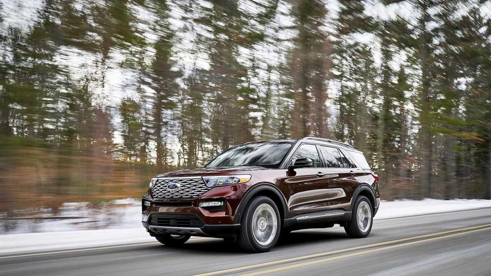 Ford Explorer 2020, Explorer mới, SUV