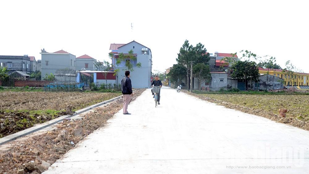 Xã Thắng Cương, Yên Dũng, vượt qua khó khăn, nông thôn mới