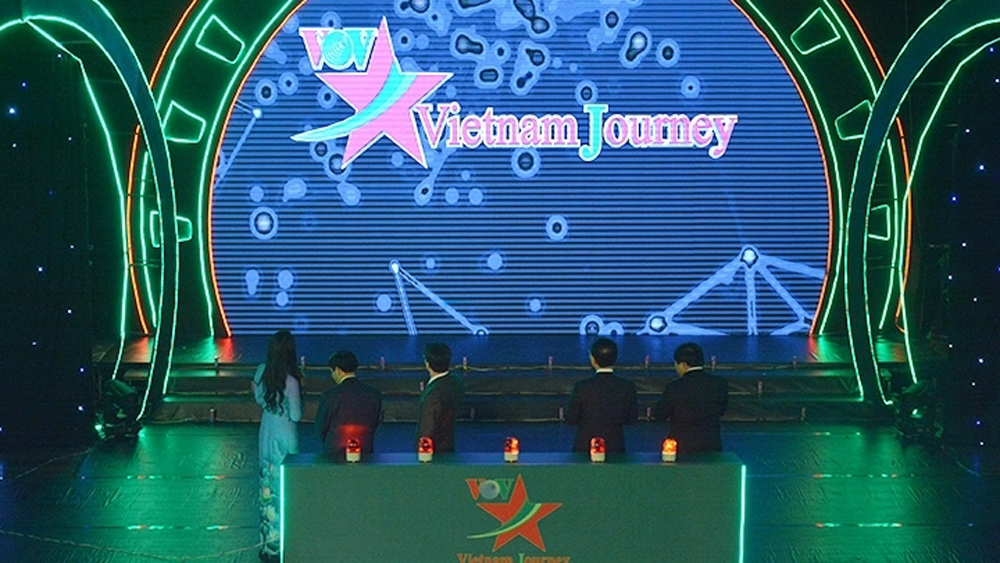 Vietnam, first TV channel, culture and tourism, Voice of Vietnam, live television broadcast programme, broadcasting ceremony, multi-platform interactive TV channel