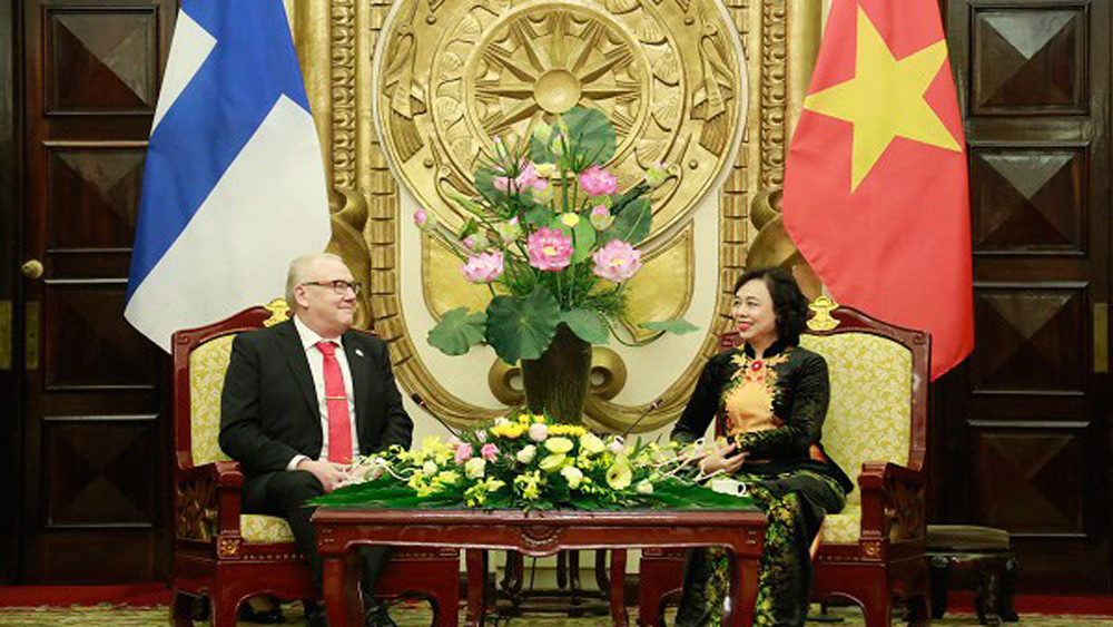 Hanoi, comprehensive cooperation, Finland's South Ostrobothnia, Vietnam-Finland ties, investment cooperation, memorandum of understanding, bilateral relations, traditional cooperative fields