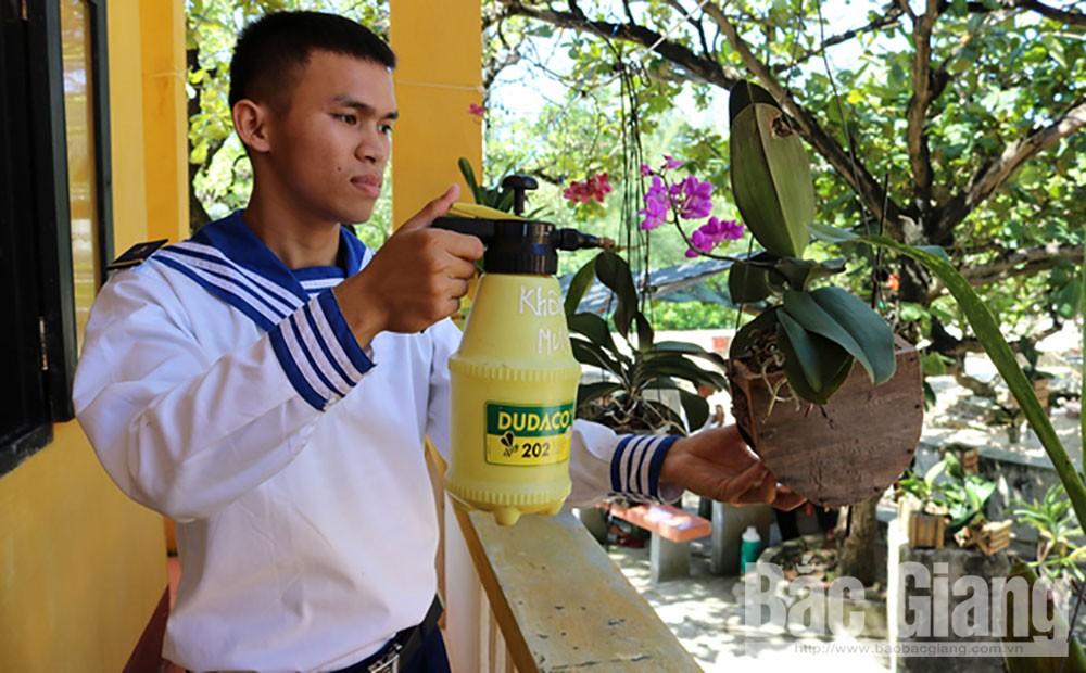 Quần đảo Trường Sa, Cán bộ chiến sĩ Quần đảo TRường Sa, Báo Bắc Giang